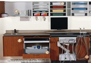 dental clinic design guide - Readymade built-in cabinet