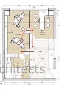 dental office design - Patient movement loop