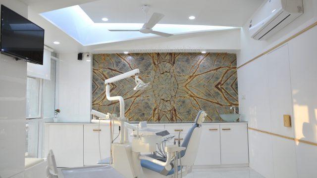 Roots dental clinic interior design - prarthit shah
