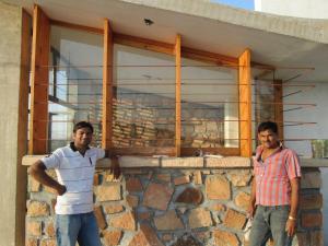 5.-Door-Windows-villa-aaranyak-making-9